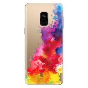 Silikonové odolné pouzdro iSaprio - Color Splash 01 na mobil Samsung Galaxy A8 2018