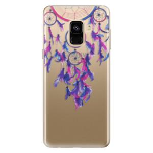 Silikonové odolné pouzdro iSaprio - Dreamcatcher 01 na mobil Samsung Galaxy A8 2018