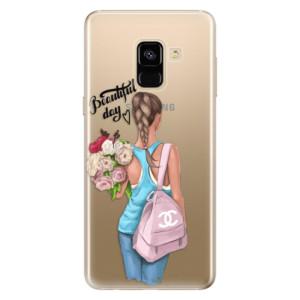 Silikonové odolné pouzdro iSaprio - Beautiful Day na mobil Samsung Galaxy A8 2018