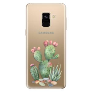 Silikonové odolné pouzdro iSaprio - Cacti 01 na mobil Samsung Galaxy A8 2018
