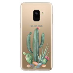 Silikonové odolné pouzdro iSaprio - Cacti 02 na mobil Samsung Galaxy A8 2018
