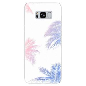 Silikonové odolné pouzdro iSaprio - Digital Palms 10 na mobil Samsung Galaxy S8