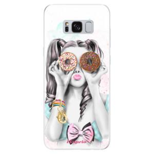 Silikonové odolné pouzdro iSaprio - Donuts 10 na mobil Samsung Galaxy S8