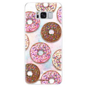 Silikonové odolné pouzdro iSaprio - Donuts 11 na mobil Samsung Galaxy S8