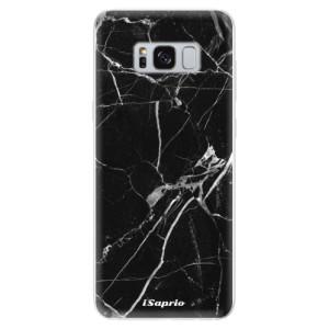 Silikonové odolné pouzdro iSaprio - Black Marble 18 na mobil Samsung Galaxy S8