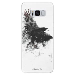 Silikonové odolné pouzdro iSaprio - Dark Bird 01 na mobil Samsung Galaxy S8