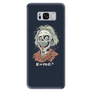 Silikonové odolné pouzdro iSaprio - Einstein 01 na mobil Samsung Galaxy S8