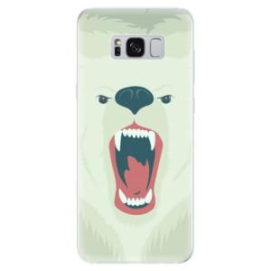 Silikonové odolné pouzdro iSaprio - Angry Bear na mobil Samsung Galaxy S8