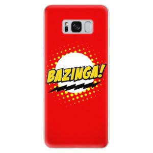 Silikonové odolné pouzdro iSaprio - Bazinga 01 na mobil Samsung Galaxy S8