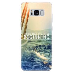 Silikonové odolné pouzdro iSaprio - Beginning na mobil Samsung Galaxy S8