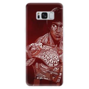 Silikonové odolné pouzdro iSaprio - Bruce Lee na mobil Samsung Galaxy S8