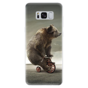 Silikonové odolné pouzdro iSaprio - Bear 01 na mobil Samsung Galaxy S8