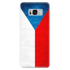 Silikonové odolné pouzdro iSaprio - Czech Flag na mobil Samsung Galaxy S8