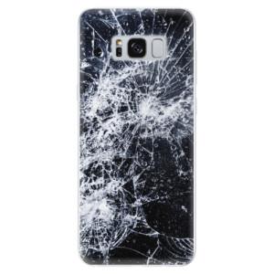 Silikonové odolné pouzdro iSaprio - Cracked na mobil Samsung Galaxy S8