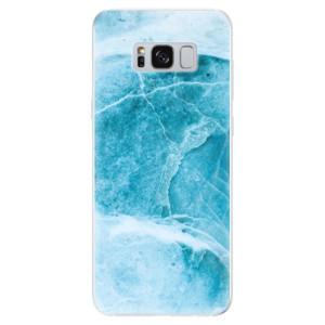 Silikonové odolné pouzdro iSaprio - Blue Marble na mobil Samsung Galaxy S8