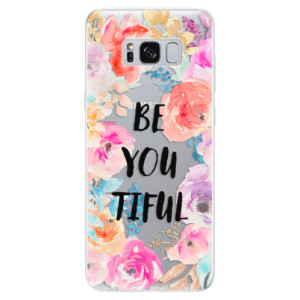 Silikonové odolné pouzdro iSaprio - BeYouTiful na mobil Samsung Galaxy S8