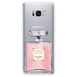 Silikonové odolné pouzdro iSaprio - Chanel Rose na mobil Samsung Galaxy S8