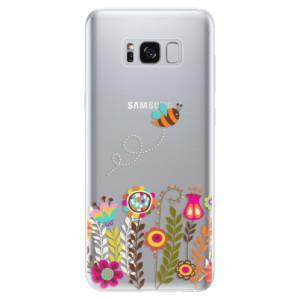 Silikonové odolné pouzdro iSaprio - Bee 01 na mobil Samsung Galaxy S8
