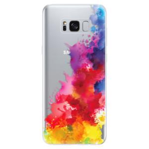 Silikonové odolné pouzdro iSaprio - Color Splash 01 na mobil Samsung Galaxy S8