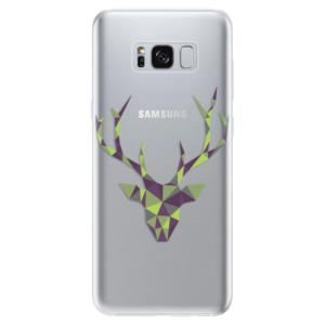 Silikonové odolné pouzdro iSaprio - Deer Green na mobil Samsung Galaxy S8