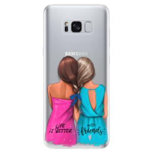 Silikonové odolné pouzdro iSaprio - Best Friends na mobil Samsung Galaxy S8