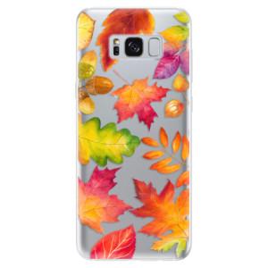 Silikonové odolné pouzdro iSaprio - Autumn Leaves 01 na mobil Samsung Galaxy S8