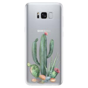 Silikonové odolné pouzdro iSaprio - Cacti 02 na mobil Samsung Galaxy S8