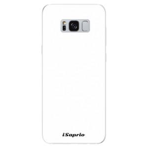 Silikonové odolné pouzdro iSaprio - 4Pure - bílé na mobil Samsung Galaxy S8