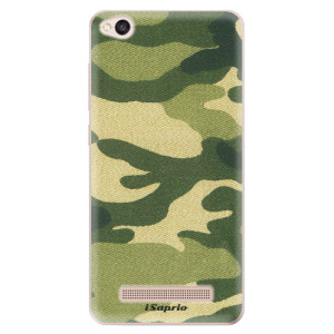 Silikonové odolné pouzdro iSaprio - Green Camuflage 01 na mobil Xiaomi Redmi 4A - poslední kousek za tuto cenu