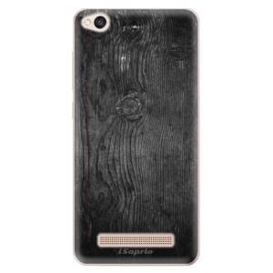 Silikonové odolné pouzdro iSaprio - Black Wood 13 na mobil Xiaomi Redmi 4A