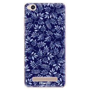 Silikonové odolné pouzdro iSaprio - Blue Leaves 05 na mobil Xiaomi Redmi 4A