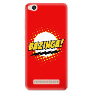 Silikonové odolné pouzdro iSaprio - Bazinga 01 na mobil Xiaomi Redmi 4A