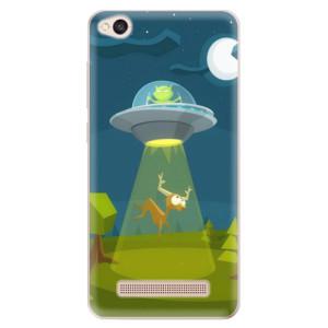 Silikonové odolné pouzdro iSaprio - Alien 01 na mobil Xiaomi Redmi 4A