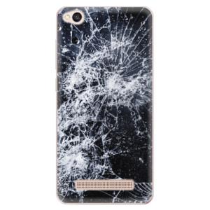 Silikonové odolné pouzdro iSaprio - Cracked na mobil Xiaomi Redmi 4A