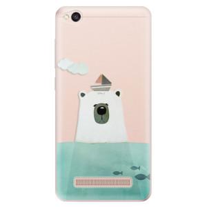Silikonové odolné pouzdro iSaprio - Bear With Boat na mobil Xiaomi Redmi 4A