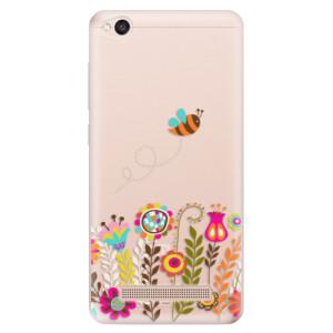 Silikonové odolné pouzdro iSaprio - Bee 01 na mobil Xiaomi Redmi 4A