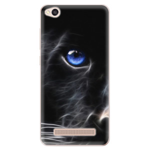 Silikonové odolné pouzdro iSaprio - Black Puma na mobil Xiaomi Redmi 4A