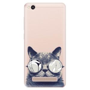 Silikonové odolné pouzdro iSaprio - Crazy Cat 01 na mobil Xiaomi Redmi 4A