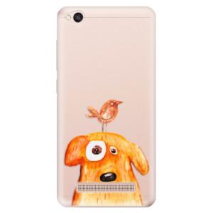 Silikonové odolné pouzdro iSaprio - Dog And Bird na mobil Xiaomi Redmi 4A