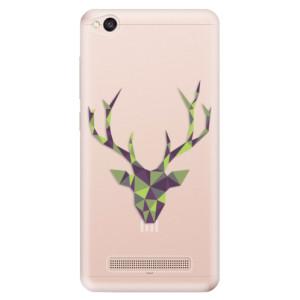 Silikonové odolné pouzdro iSaprio - Deer Green na mobil Xiaomi Redmi 4A