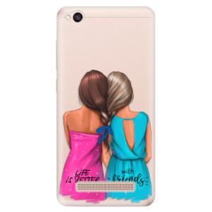 Silikonové odolné pouzdro iSaprio - Best Friends na mobil Xiaomi Redmi 4A