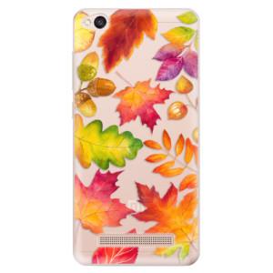 Silikonové odolné pouzdro iSaprio - Autumn Leaves 01 na mobil Xiaomi Redmi 4A