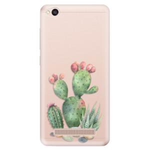 Silikonové odolné pouzdro iSaprio - Cacti 01 na mobil Xiaomi Redmi 4A