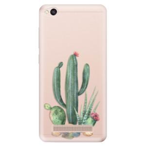 Silikonové odolné pouzdro iSaprio - Cacti 02 na mobil Xiaomi Redmi 4A