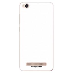 Silikonové odolné pouzdro iSaprio - 4Pure - bílé na mobil Xiaomi Redmi 4A