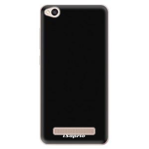 Silikonové odolné pouzdro iSaprio - 4Pure - černé na mobil Xiaomi Redmi 4A