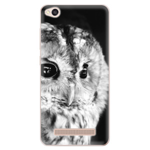Silikonové odolné pouzdro iSaprio - BW Owl na mobil Xiaomi Redmi 4A