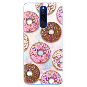Silikonové odolné pouzdro iSaprio - Donuts 11 na mobil Xiaomi Redmi 8