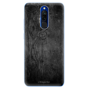 Silikonové odolné pouzdro iSaprio - Black Wood 13 na mobil Xiaomi Redmi 8