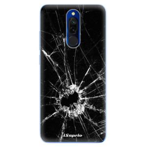 Silikonové odolné pouzdro iSaprio - Broken Glass 10 na mobil Xiaomi Redmi 8